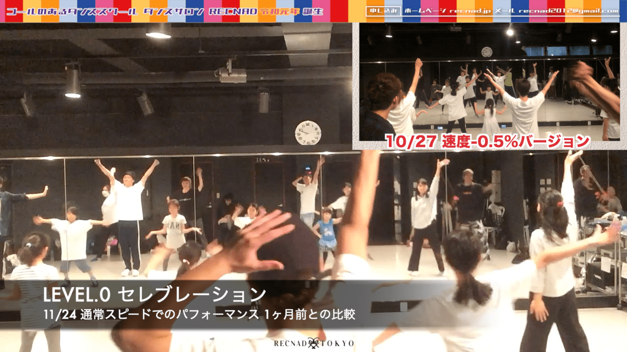 ダンス講座 入門編 8   ダンスサロンRECNAD 品川区大崎ダンス教室