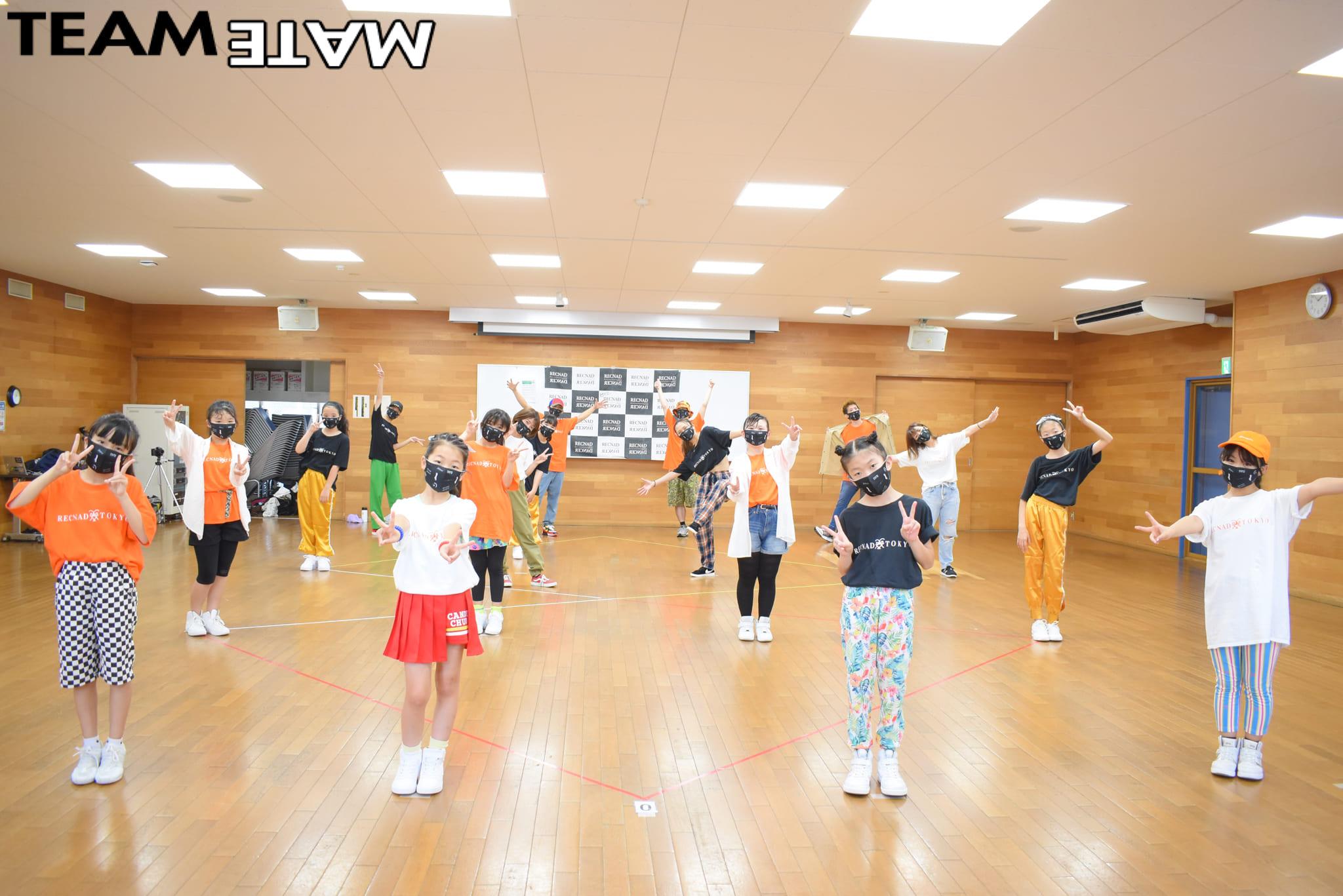 オンラインダンスレッスン2ヶ月の成果 合同練習 RECNAD TOKYO