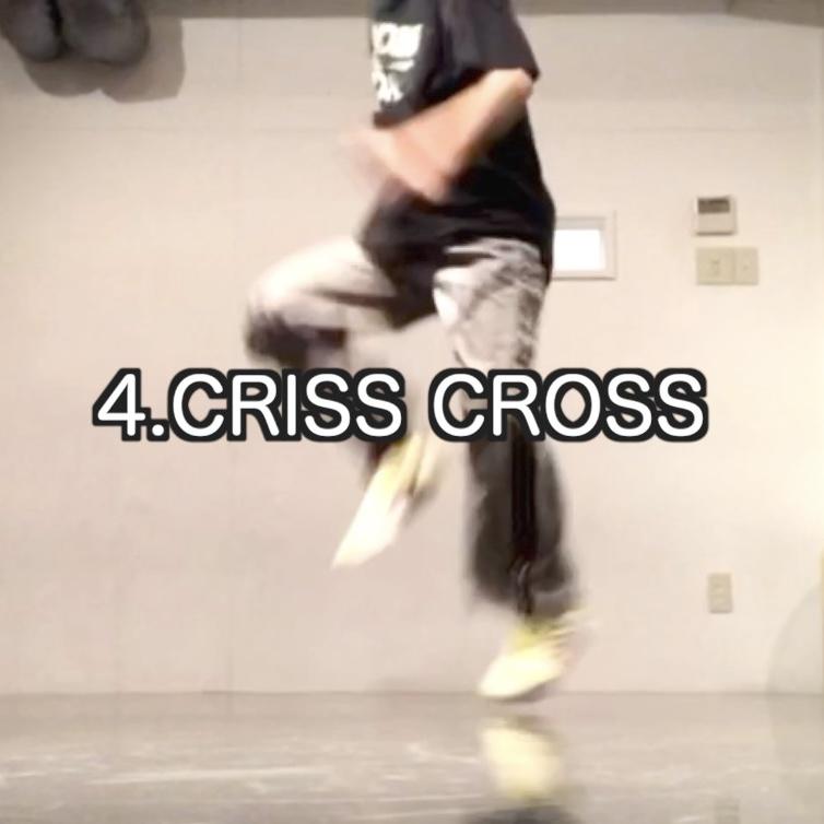 ヒップホップダンス ステップ CRISS CROSS - クリスクロス